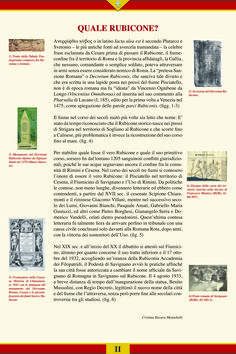 Quale Rubicone? da Alea iacta est. Giulio Cesare in Archivio, mostra a cura di Cristina Ravara Montebelli, Rimini 2010