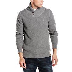 Chollo en Amazon: Suéter para hombre Tommy Hilfiger Denim Gibson Shawl por solo 53,95€ (un 55% de descuento sobre el PVR y precio mínimo histórico)