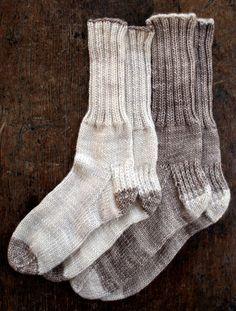 Whit's Knits: Homespun Boot Socks