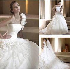 Wedding Dresses Hochzeitskleider - http://www.1pic4u.com/blog/2014/09/18/wedding-dresses-hochzeitskleider-519/
