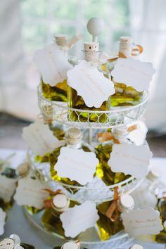 Elegant Chicago Wedding from Justine Bursoni - Elizabeth Anne Designs Olive Oil Wedding Favors, Dinner Themes, Greece Wedding, Chicago Wedding, Intimate Weddings, Favor Tags, Christening, Wedding Inspiration, Wedding Ideas