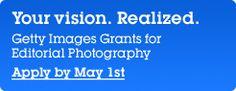 Presentata la quinta edizione del programma Getty Images Creative Grant. Candidature fino al 1 marzo 2013