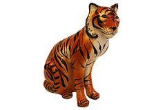 Ceramic Tiger on OneKingsLane.com