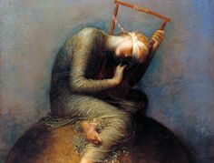 George Frederic Watts was an English Victorian painter and sculptor associated with the Symbolist movement. Hope Painting, Music Painting, Painting Art, Picasso, Hope Art, Tate Gallery, Tate Britain, Rembrandt, Art Google
