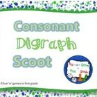 """K - 2nd grade students will have fun playing a game of """"Scoot"""" while practicing sorting words by consonant diagraph. Each time the bell chimes stud..."""