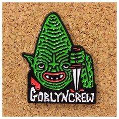 GOBLYN CREW enamel pin · tittybats · Online Store Powered by Storenvy