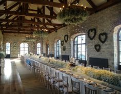 The Carriage Rooms, Montalto Photoraphy by Bradley Quinn Flowers by floralearth