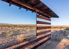 lucid stead installation by phillip k smith III makes a desert cabin appear transparent