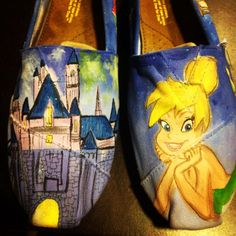 My Tinkerbell shoes #tink_herbal