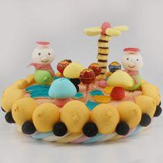 Gâteau de bonbons Thomas - So Bonbon