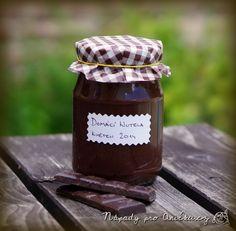 Domácí zdravější verze nutely Nutella, Menu, Cookies, Sweet, Food, Menu Board Design, Crack Crackers, Candy, Biscuits