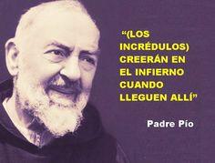Infierno, frases de santos, Padre Pío