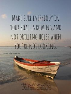 Everybody In Your Boat