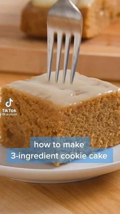 Fun Baking Recipes, Sweet Recipes, Cookie Recipes, Easy Desserts, Delicious Desserts, Yummy Food, Comida Diy, 3 Ingredient Cookies, Desert Recipes