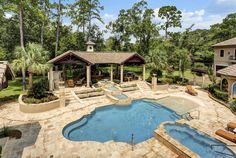 via Homes of the Rich (.net)   Houston, TX   15 car garage   3 acres   10,935 sq ft   7 bed   8 full, 4 half baths   7.5 million USD
