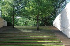 outdoor auditorium - The Nasher Sculpture Center -
