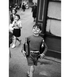 Henri Cartier-Bresson, Sunday Morning Errands, rue Mouffetard, Paris (1954)