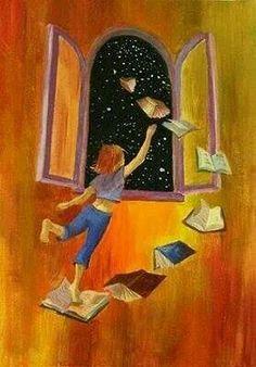 i love books Illustrations, Book Illustration, Reading Art, World Of Books, Book Images, Pics Art, I Love Books, Book Nerd, Cute Wallpapers