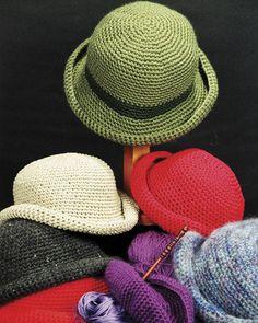 Crocheted Crusher Hat - PDF pattern