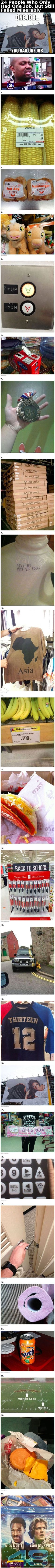 24 People Who Only Had One Job, But Still Failed Miserably funny memes lol hilarious humor funny pictures wtf funny images humor, funny quotes Wtf Funny, Funny Fails, Funny Cute, Funny Humor, Pranks Hilarious, Funny Stuff, Funny Cartoons, Ocd Humor, Funny Drunk