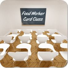 How to get your food worker card