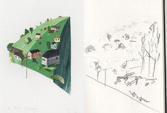 Lostwithiel. Stacey Knights Illustration