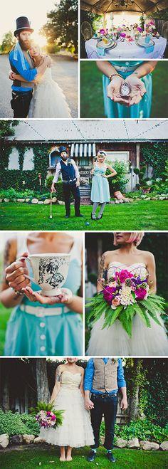 Amazing Disney Wedding Inspiration