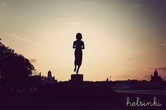 My home town, Helsinki.