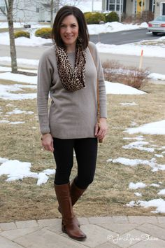 Fashion Over 40: How to Wear Black and Brown together. Wearable fashion for women over 40 on jolynneshane.com