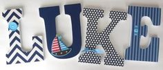 boys decorate wooden letters - Google Search