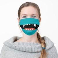 Face Masks for Golfer - Thaninee Media Funny Face Mask, Diy Face Mask, Face Masks, Funny Lips, Funny Faces, Funny Mouth, Happy Monster, Cartoon Monsters, Dog Nose