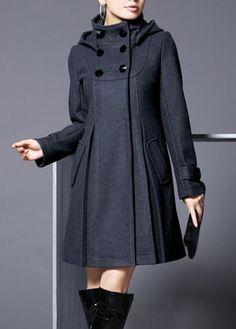 Chic Woolen Warm Winter Coat