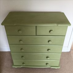 1990's pine chest updated
