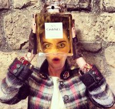 Cara Delevingne for Chanel