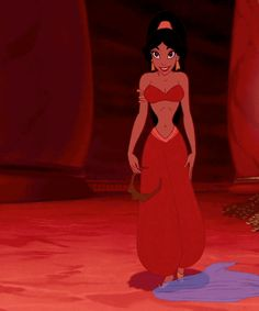 Jasmine's belly dance: | Community Post: 15 Reasons You're Not A Disney Princess