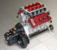 ◆ Visit MACHINE Shop Café ◆ (Ariel Atom V8 Race Engine)