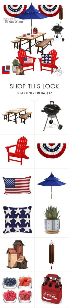 """Inspired by. The home of the brave."" by kamrynsberrybitterlich on Polyvore featuring interior, interiors, interior design, home, home decor, interior decorating, Hanover, SONOMA Goods for Life, Pier 1 Imports and Trans-Ocean"