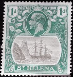 St. Helena (17) 1923 -1937 King George V and Ships