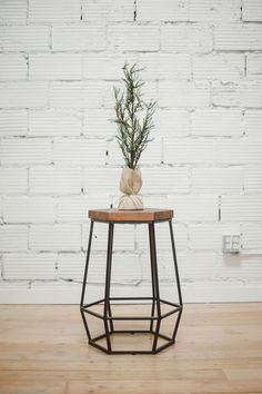 These stools are almost too pretty to sit on. But they're just as comfortable as they are beautiful! The geometric details allow you to rest your heels perfectly as you sip your glass of wine.