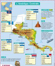 L'Amérique Centrale - Mon Quotidien, le seul site d'information quotidienne pour les 10-14 ans !