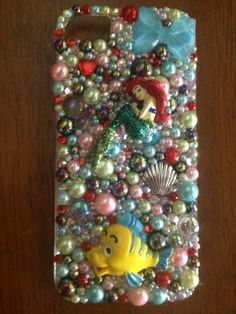 Ariel iPhone 5.  Cell phone case  Contact me if your interested in any phone case Vegasbronco@yahoo.com  Or kik me at : yourphoneisblinging