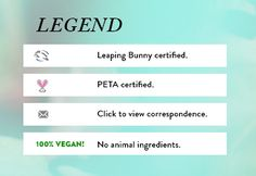 List of Officially Cruelty-Free Brands   2017