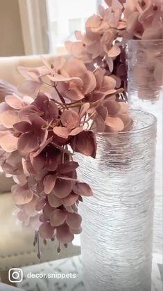 Diy Crafts For Home Decor, Diy Crafts Hacks, Diy Arts And Crafts, Diy Crafts Videos, Diys, Dollar Tree Decor, Dollar Tree Crafts, Flower Vases, Flower Arrangements