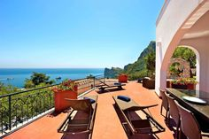 Check out this awesome listing on Airbnb: A Villa with enchanting sea view - Houses for Rent in Massa Lubrense