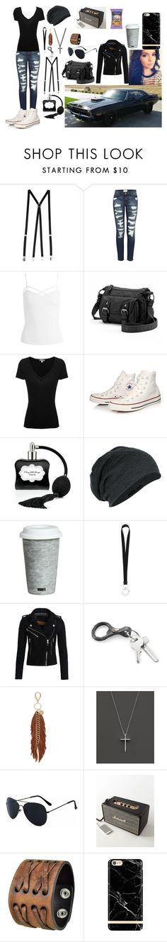 """""""Untitled #404"""" by mialangston ❤ liked on Polyvore featuring American Apparel, Current/Elliott, Sans Souci, Candie's, James Perse, Converse, Victoria's Secret, Fitz & Floyd, Givenchy and Superdry"""