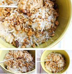 Bread Pudding Oats, via Kath Eats