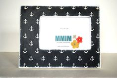 Hey, I found this really awesome Etsy listing at http://www.etsy.com/listing/126771142/4-x-6-anchor-picture-frame-nautical