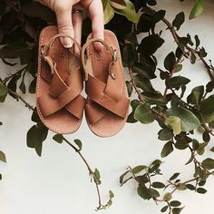 Adelisa & Co. leather sandals for babies and toddlers are made using 100%, genuine leather in a soft brown tone and have a flexible rubber sole. They are comfortable, versatile, and feature a timeless design making them your go-to leather sandal for spring and summer. Whether it is exploring outside in the fresh air, or a celebration that calls for a dressier outfit, these Adeilsa & Co. genuine leather sandals are perfect for any adventure your little one takes them on.