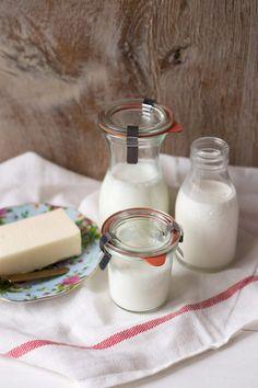 Lácteos en repostería: los más utilizados