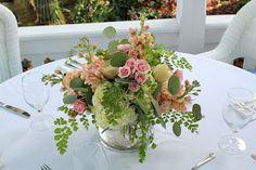 Ruby Reds Floral & Garden, Jacksonville, FL 904-476-9282: Shan & Dwayne Married: Westcott House, St. Augustine Wedding Florist